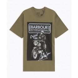 T-shirt SMQ Barbour AW 20