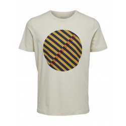 T-Shirt Bone white SS20...
