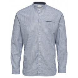 Chemise Selected col Mao SS20