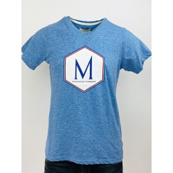 T-Shirt N°4 Bleu - Maison...