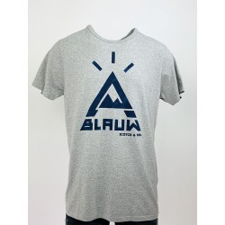 T-shirt Blauw grey - Scotch...