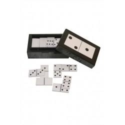 Boite dominos noire Chehoma