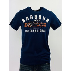T-Shirt Bleu - Barbour